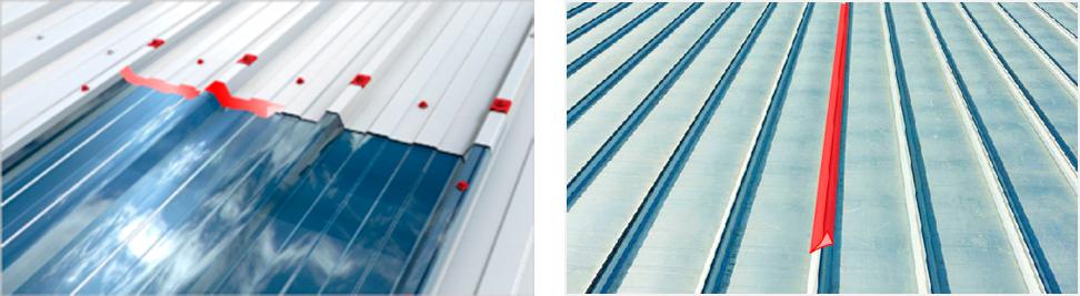 Sealing Joints On Metal Roofs Effisus